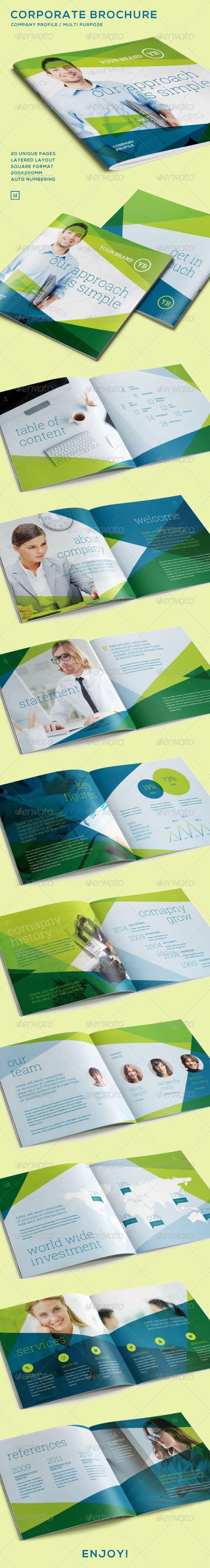 Contoh Refrensi Layout Company Profile