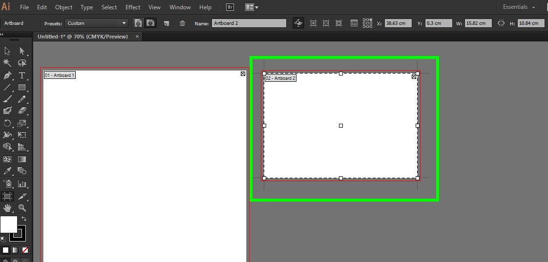 Cara membuat Artboard dengan ukuran yang berbeda pada 1 file