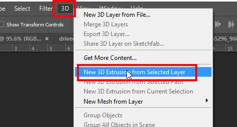 Cara Membuat Tulisan 3D di Adobe Photoshop CC 2015