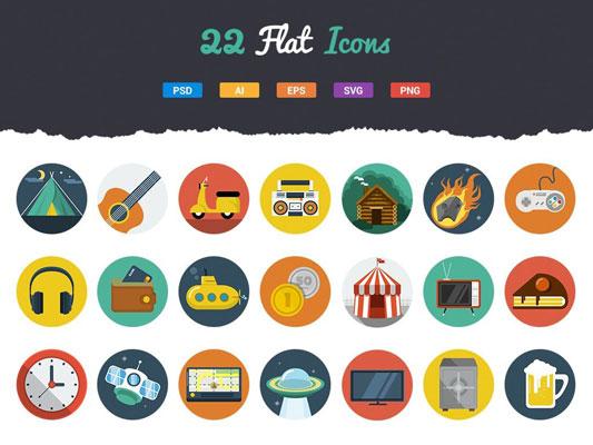 gratis icon flat vektor