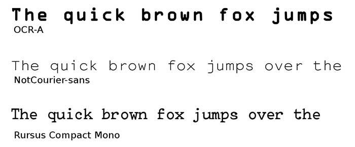 jenis-jenis-font-monospace