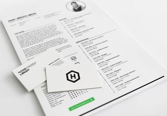 13 desain template resume atau curriculum vitae gratis