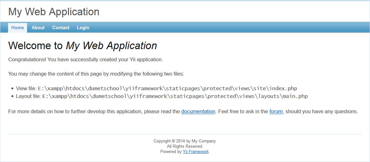 Cara Install Yii Framework