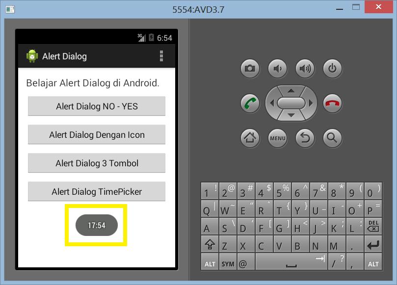 Cara Membuat Timepicker Dengan Alert Dialog di Android