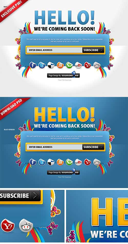 colorfull-psd-template