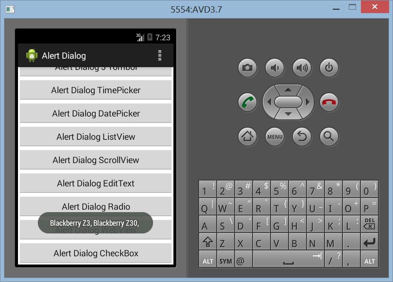 Membuat CheckBox Dengan Alert Dialog di Android