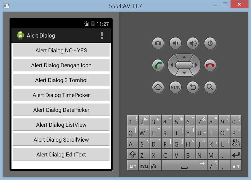 Membuat EditText Dengan Alert Dialog di Android