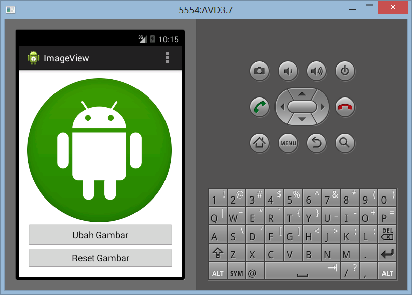 Membuat ImageView di Android