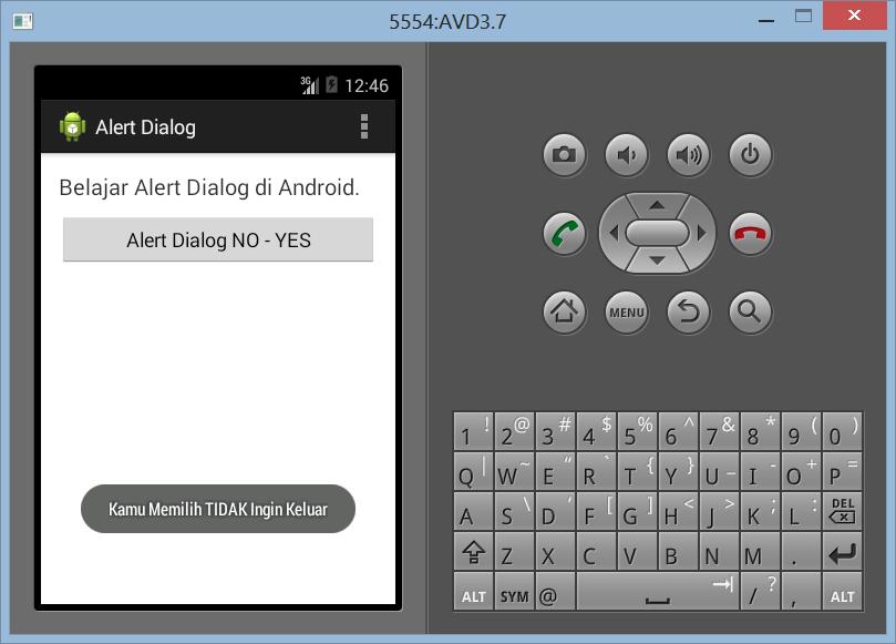 Membuat Konfirmasi Alert Dialog di Android