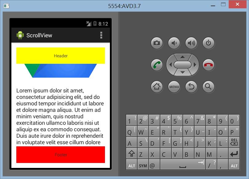 Membuat Layout ScrollView Dengan Banyak Elemen di Android