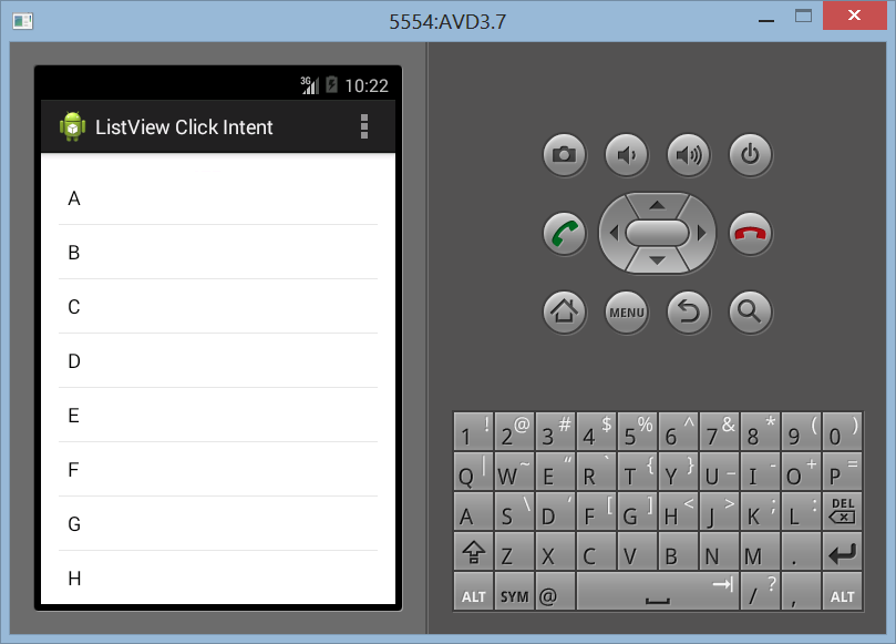 Membuat ListView Click Dengan Intent di Android