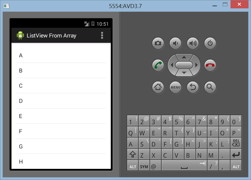 Membuat ListView Dengan Array Sederhana di Android