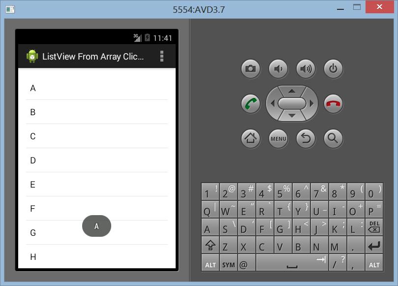 Membuat ArrayAdapter Dengan SetOnItemClickListener di Android