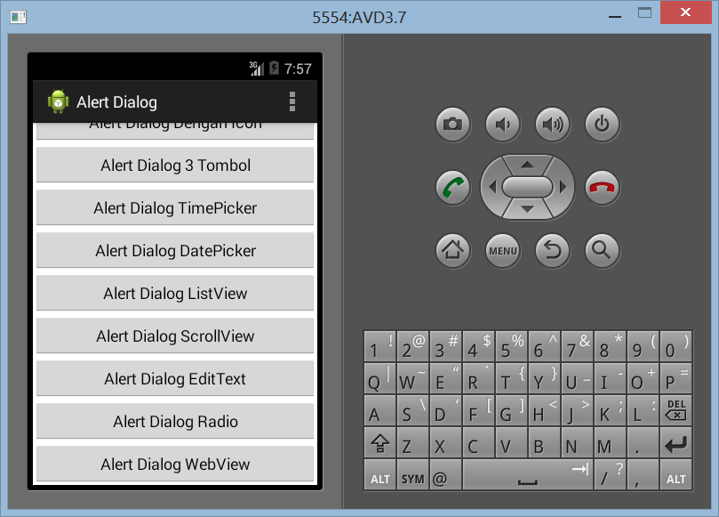 Membuat WebView Dengan Alert Dialog di Android