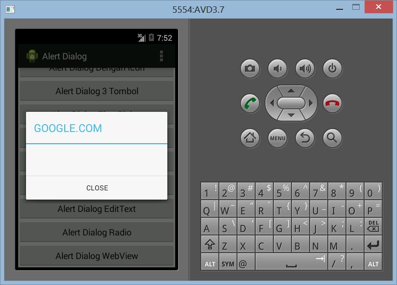Membuat WebView ProgressDialog Dengan Alert Dialog di Android