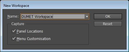 Cara Membuat Workspace baru pada InDesign