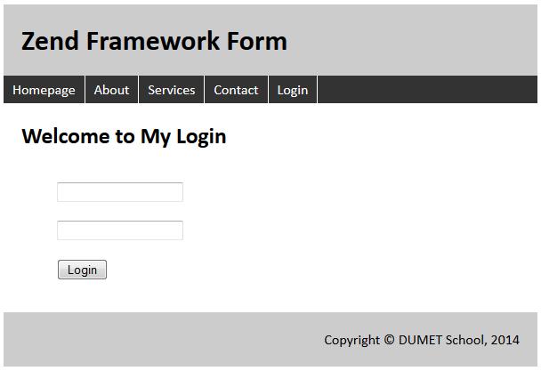 Membuat Form di Zend Framework 1