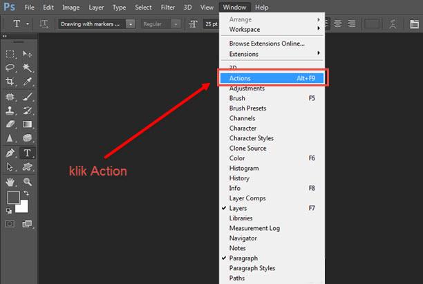 Cara Menambahkan Photoshop Action Dengan Mudah
