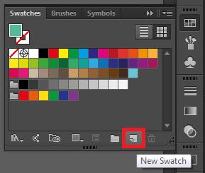 Cara Menambahkan Warna Baru Pada Swatches di Adobe Illustrator