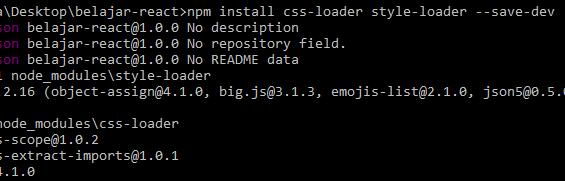 Cara Menambahkan CSS Pada React (External)