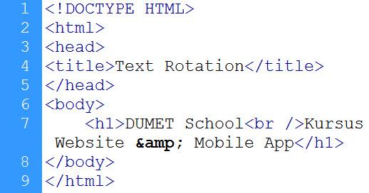 kursus web design, kursus website, kursus css