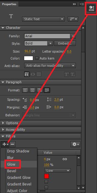 Cara Memberikan Efek Glow Di Adobe Flash