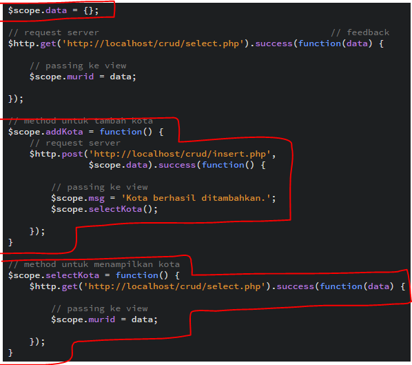 Membuat CRUD Dengan AngularJS Dan PHP Part 2
