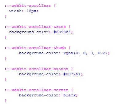 Cara merubah styling scrollbar menggunakan css3 - Css for scrollbar in div ...