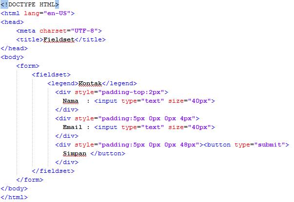 Fungsi-Fieldset-Pada-HTML