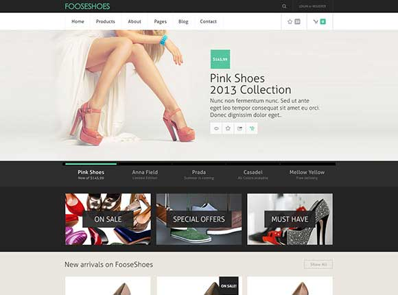 e-commerce-psd-template