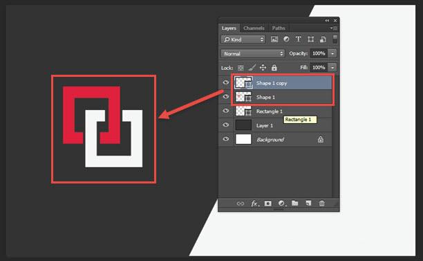 Membuat Kartu Nama Design Modern di Photoshop