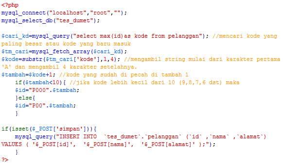 kode-otomatis-php