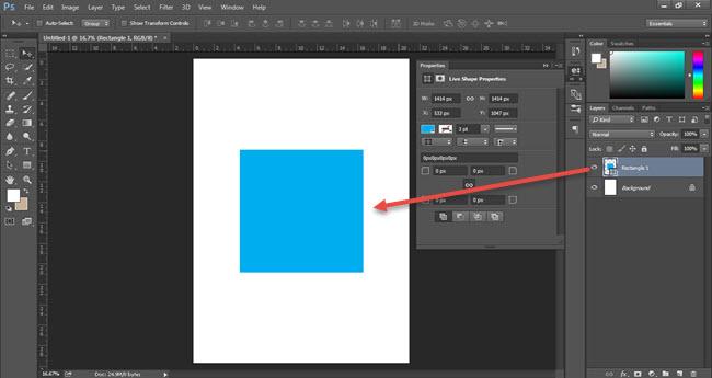Cara Memisahkan Layer Style Dari Sebuah Layer Photoshop