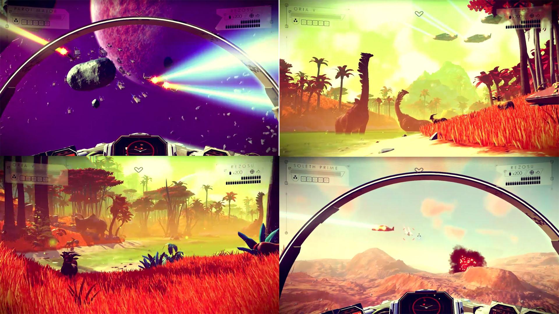 No Man's Sky - Game Eksplorasi Luar Angkasa Terbaik