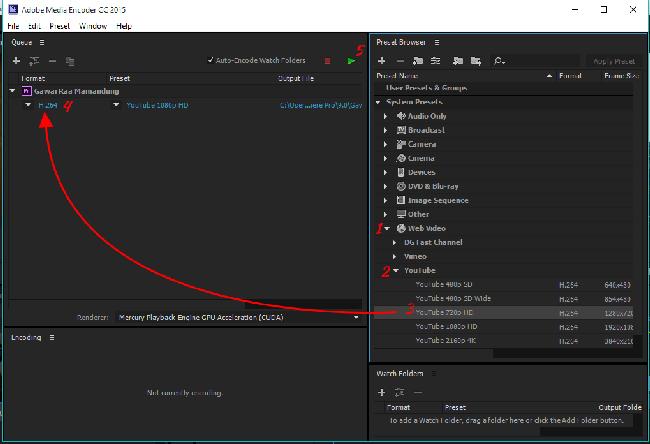 Cara Rendering Video pada Premiere Pro Menggunakan Adobe Encoder