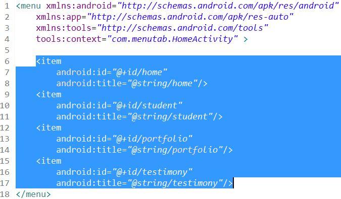 Tutorial Membuat Menu di Android Dengan Toast