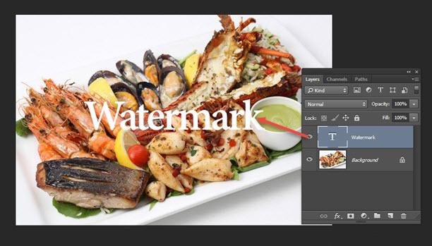 Cara membuat Watermark di Foto pada Photoshop