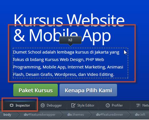 Kursus Website, Kursus Web Design, Kursus Komputer, Kursus IT