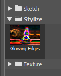 Memberikan Efek Glowing Edges di Adobe Photoshop