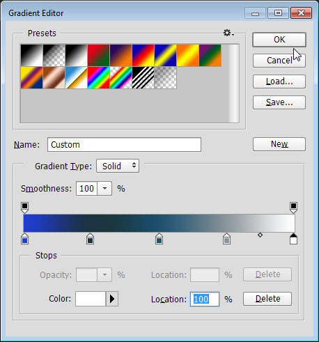 Gradient Map di Photoshop