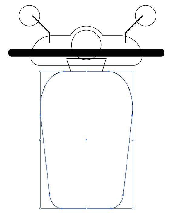 Cara Menggambar Motor Bebek Matic Scoopy Vidio Com