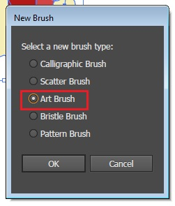 Cara Membuat Art Brush di Illustrator